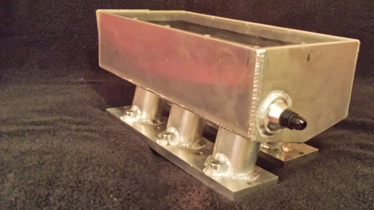 Custom Aluminum Intake By Unclenard - Engine