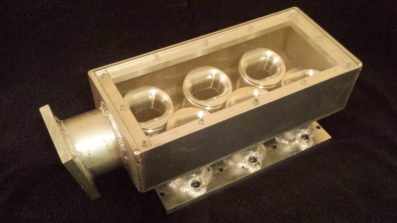 V6 Intake Manifold : Custom aluminum intake manifold unclenard