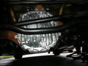 Steeda differential cover
