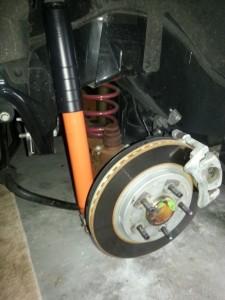 Koni rear shocks